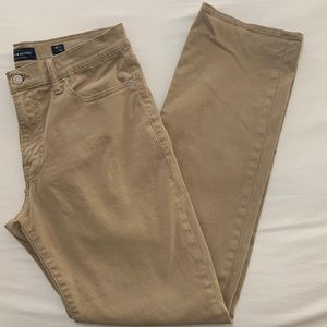 Lucky Brand Khaki Straight Pants